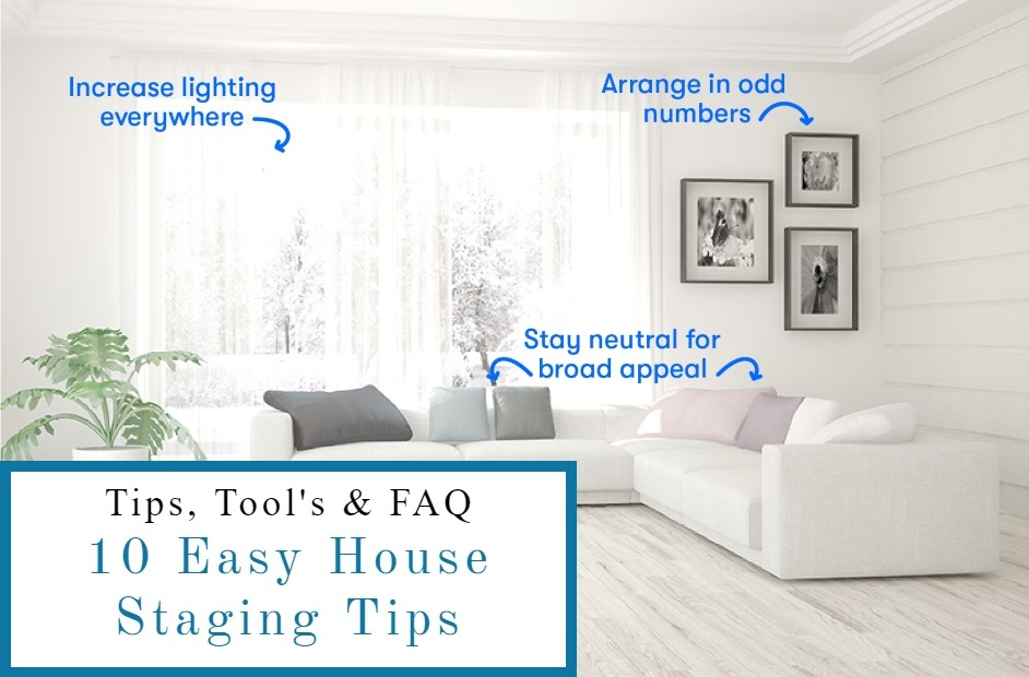10 easy house staging tips for Bangor Maine