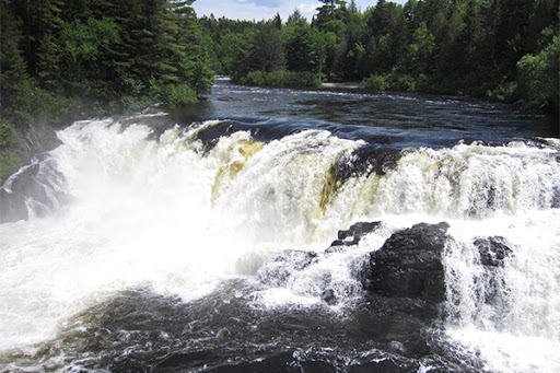 Grand Falls in Somerset County Maine