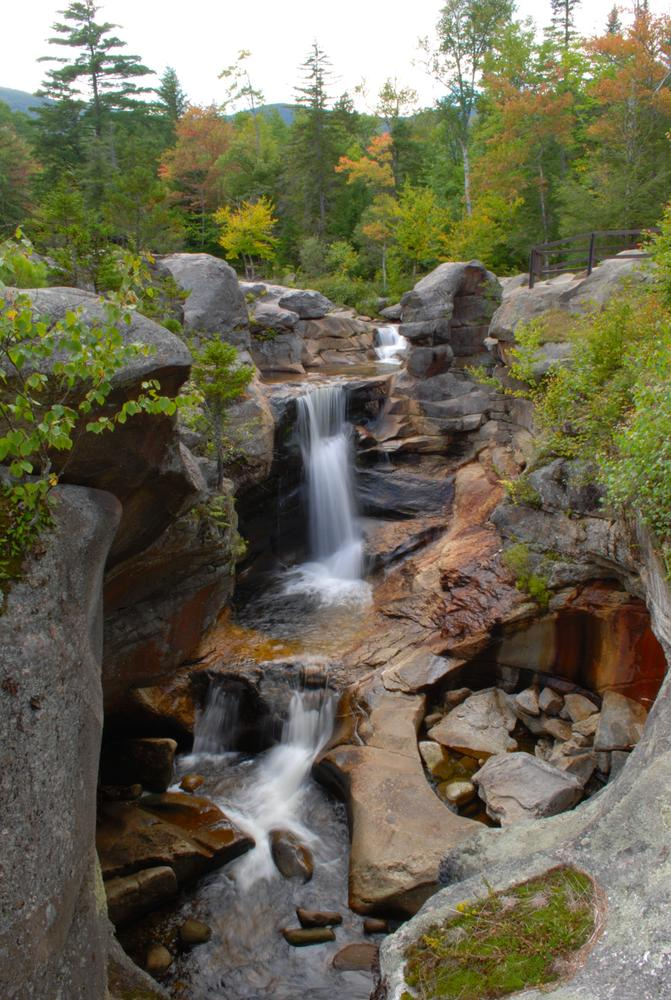 Screw Auger Falls in Oxford County Maine