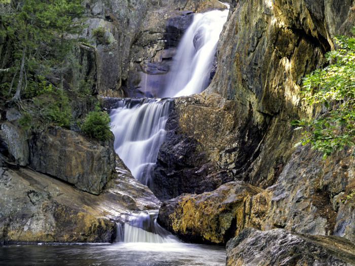 Small Falls in Franklin County Maine